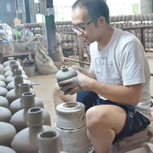 陶瓷酒瓶制作工艺