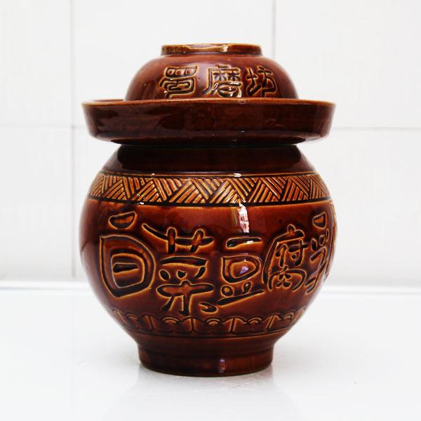 陕西蜀磨坊细陶泡菜坛