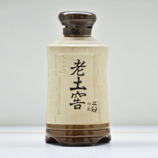 贵州老土窖陶瓷素烧酒瓶