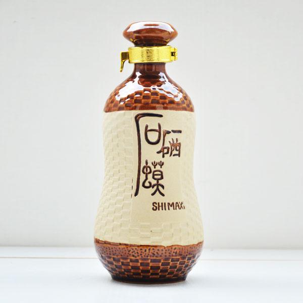 后硒蟆素烧陶瓷酒瓶