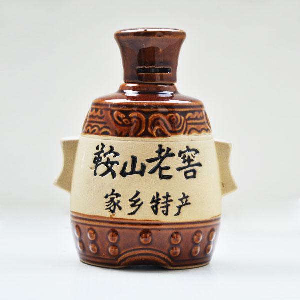 贵州鞍山老窖素烧陶瓷瓶