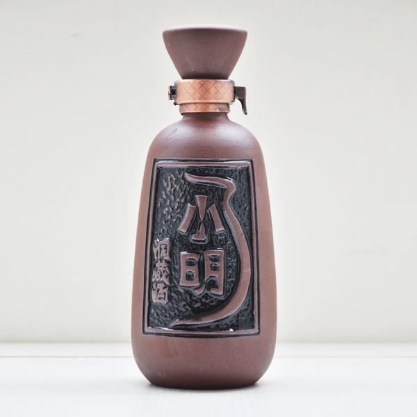 贵州小明洞藏紫砂陶瓷酒瓶