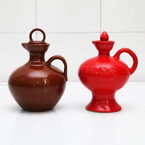 陕西纯粮原浆高档陶瓷酒瓶