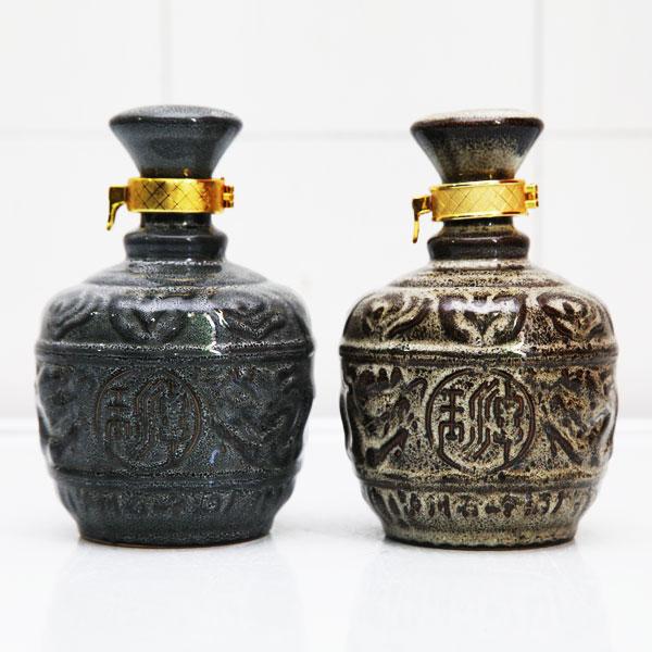 贵州高档窑变玉潭陶瓷酒瓶