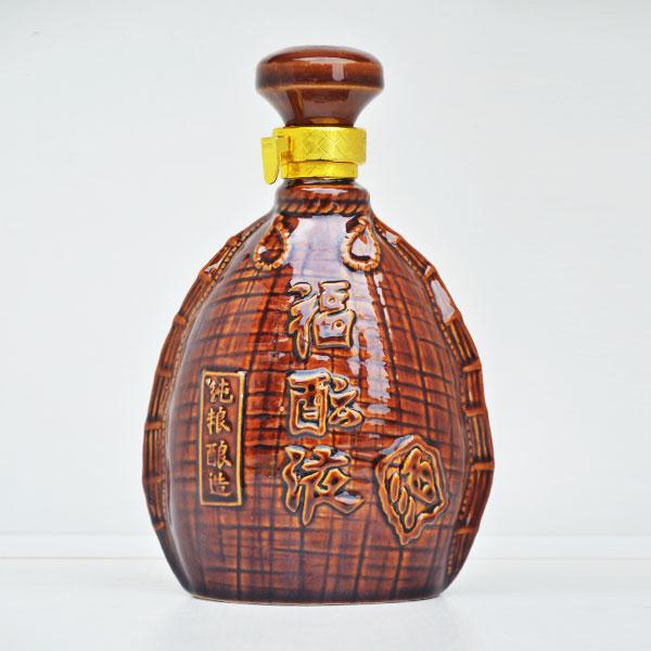 贵州定制福酿液陶瓷酒瓶