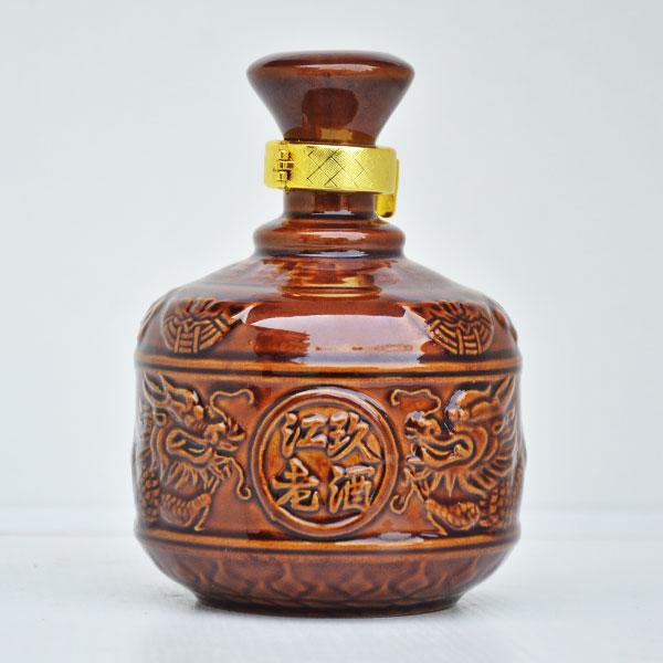 陕西定制九江老酒陶瓷酒瓶