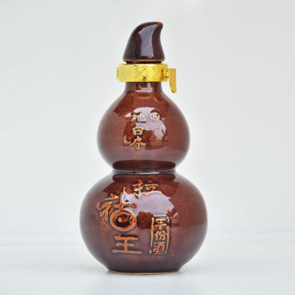 贵州定制拉祜王陶瓷酒瓶
