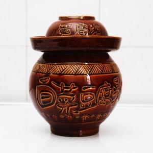 蜀磨坊细陶泡菜坛