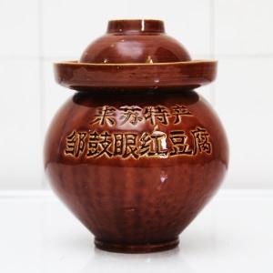 邹鼓眼红豆腐泡菜坛