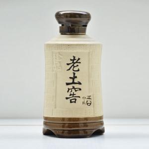 老土窖陶瓷素烧酒瓶