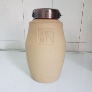 忆仟樽白色素烧陶瓷酒瓶