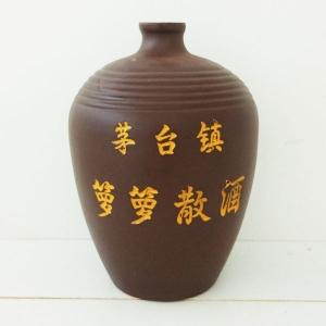 茅台镇箩箩散酒紫酒瓶