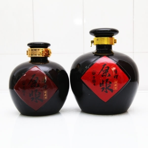 高档原浆陶瓷酒瓶