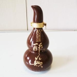 高档醉颠陶瓷葫芦酒瓶