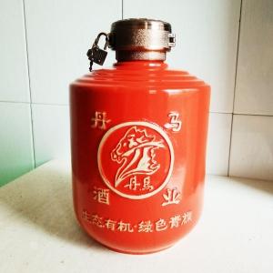 高档丹马青裸酒陶瓷酒瓶
