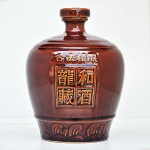 定制龙和藏酒陶瓷酒瓶