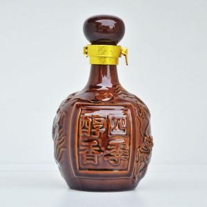 定制四季醇香陶瓷酒瓶