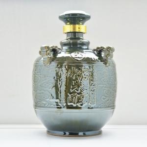 定制糯米醇陶瓷酒瓶