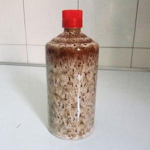 通用米灰色陶瓷酒瓶