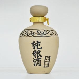 通用素烧纯粮酒陶瓷酒瓶