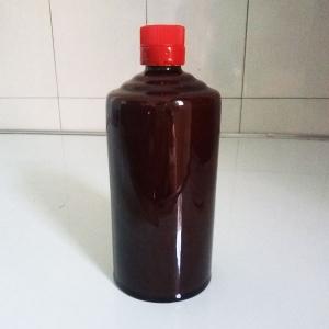 通用棕黑色陶瓷酒瓶