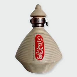 定制白毛酱陶瓷酒瓶