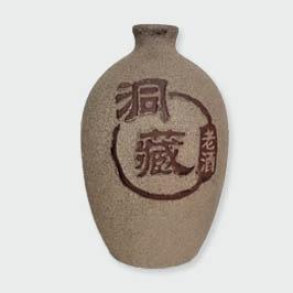 洞藏紫砂陶瓷酒瓶