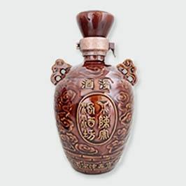 高档蜀酒陶瓷酒瓶