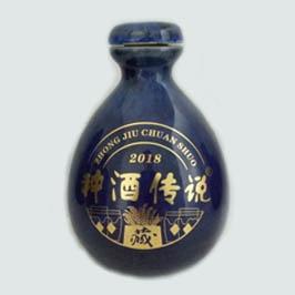 定制种酒传说陶瓷酒瓶