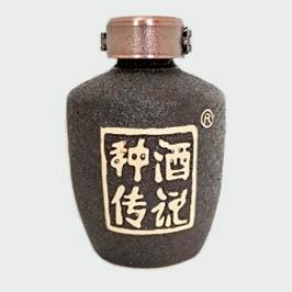 高档种酒传说陶瓷酒瓶