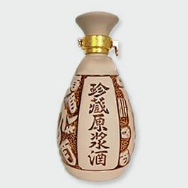 通用白泥珍藏原浆酒陶瓷酒瓶