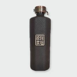 磨砂黑单切面通用瓶