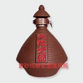 紫砂纯粮老酒通用瓶