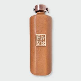 磨砂黄单切面通用瓶