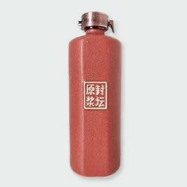 磨砂红单切面通用瓶