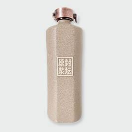 磨砂白单切面通用瓶
