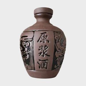 紫砂原浆陶瓷酒瓶