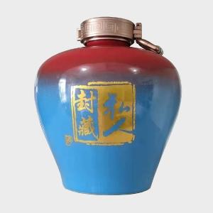 定制窖变陶瓷酒瓶